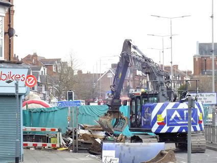 Hinckley Road explosion